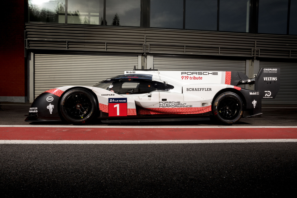 Porsche 919 Hybrid Evo takes track record at Spa