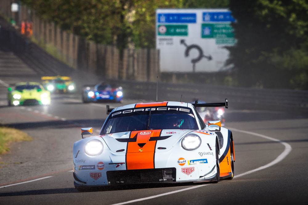Porsche 911 RSR, Gulf Racing (86), Ben Barker (GB), Thomas Preining (A), Michael Wainwright (GB)